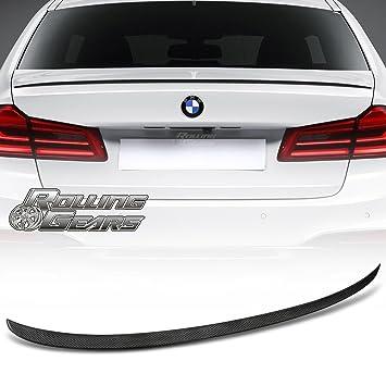 G30 Alerón de fibra de carbono tronco para BMW G30 5-Series ...