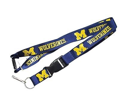 Amazon.com: Michigan Wolverines Equipo deportivo Logo Clip ...