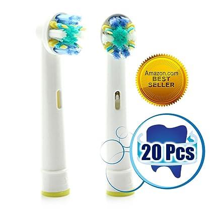Mejor vendedor Generic compatible con Oral B Floss Action - Cabezales de recambio mejor alternativa para su Braun cepillo eléctrico para dientes ...