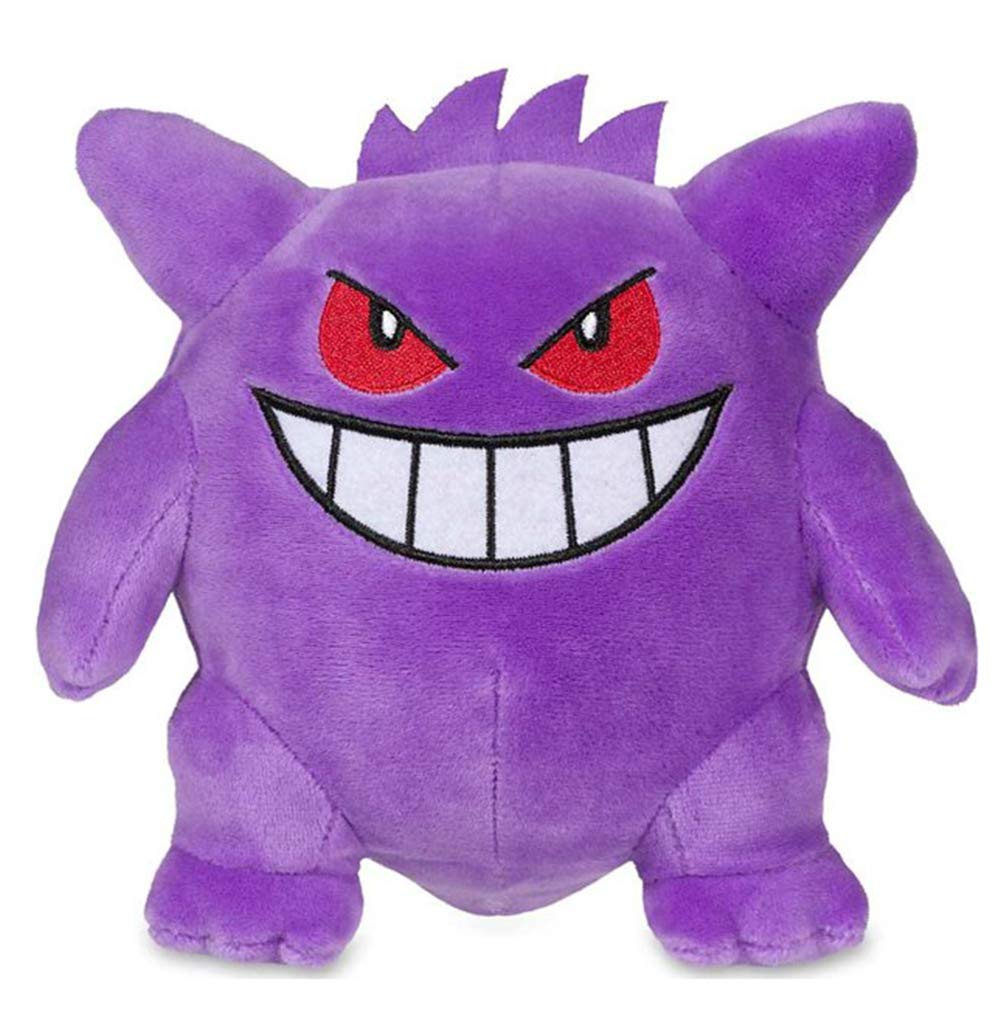 Gengar Plush - Gengar Stuffed Animal Figure Gengar Toy for Christmas, Birthday