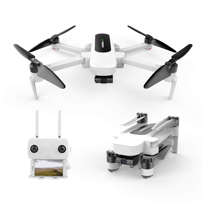 HUBSAN Zino GPS FPV Drone Plegable 4K Cámara 3 Ejes cardán App ...