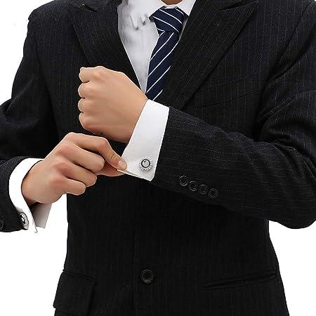 Gemelos para Hombres, Los Botones De La Camisa Negra Francesa ...