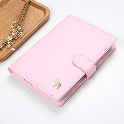 DEBON PU Leather Journal Planner Daily Weekly Monthly Yearly Academic Undated DIY Planners Productivity Agenda Schedule Organizer Cute Filofax for ...