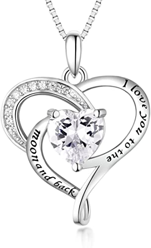 Amazon Com Bellrela Sterling Silver I Love You To The Moon And