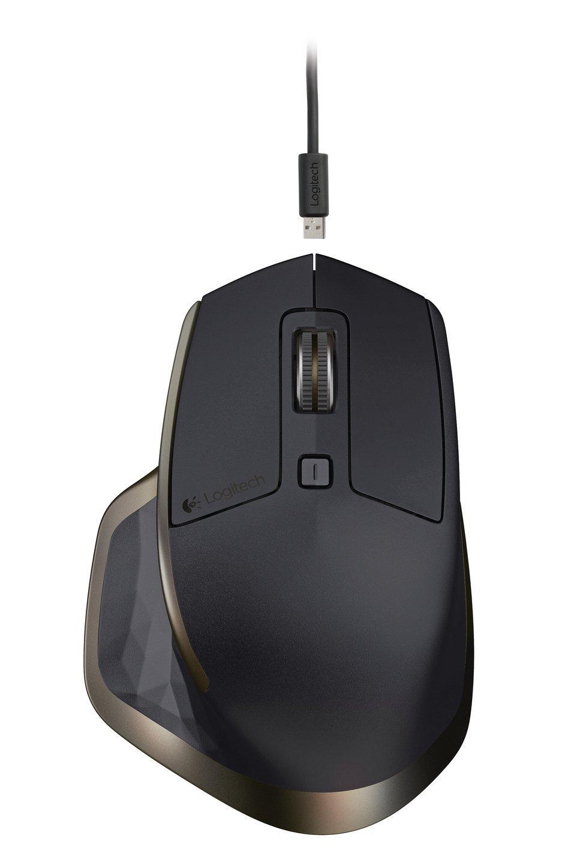 Logitech MX Master - Ratón inalámbrico, color negro
