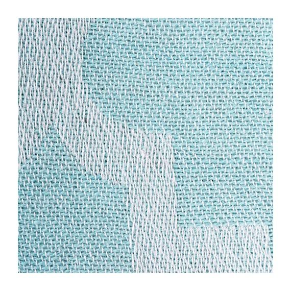 """DII CAMZ38555  Modern Moroccan Cotton Blanket Throw with Fringe For Chair, Couch, Picnic, Camping, Beach, & Everyday Use , 50 x 60"""" - Lattice Aqua - CONSTRUCTION - Throw measures 50 x 60"""", 100% Cotton QUALITY IN THE DETAILS - Old-fashioned look with a modern twist with decorative fringe for the perfect finish that won't unravel in the wash FITS THE RUSTIC, VINTAGE, OR DISTRESSED LOOK - This throw has a very chic and trendy look, throw over a couch or chair to add a splash of color and provide warmth on a cold night - blankets-throws, bedroom-sheets-comforters, bedroom - 61u8dV8EFsL. SS570  -"""