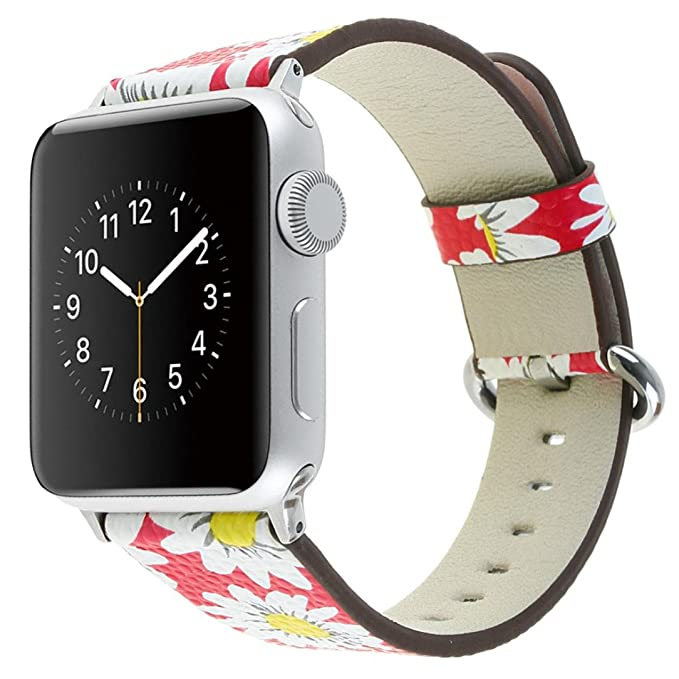 Hefu For Apple Watch Series 1/2/3, Correa de Piel para Reloj ...