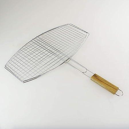 Sans Double Grille de Barbecue Ovale 45 x 25 cm