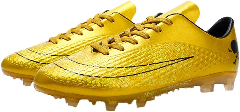 kids football cleats gold