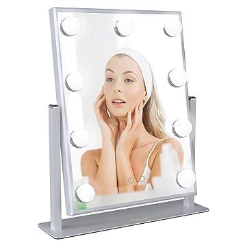 SchöN Make-up Spiegel Helligkeit Led-lampen Kit Einstellbare Helligkeit Lichter Usb Lade Port Mit 10 Pcs Make-up Spiegel Lampen Schminkspiegel