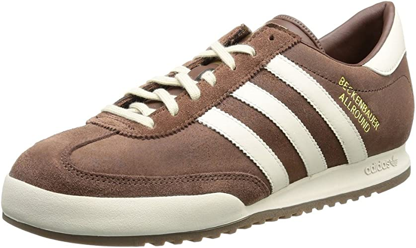 Compra Unirse Faringe  adidas Originals Beckenbauer All Round Trainers - Brown: Amazon.co.uk:  Shoes & Bags