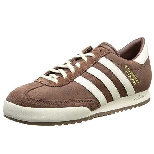 ... Adidas Originals Beckenbauer All Round Trainers - Brown 8 UK ... 2757b833e