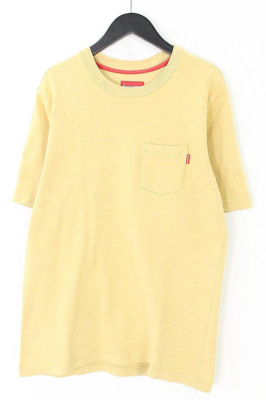 (シュプリーム) SUPREME 【14AW】【S/S Pocket Tee】ポケットTシャツ(M/ベージュ調) 中古 B07FFT479J  -