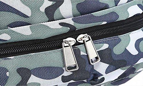 Alpinismo Al Aire Libre Mochila De Viaje 35L,Camouflage militarygreen