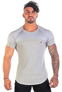 af914d036 Jed North Men's Bodybuilding Workout Long Sleeve Tee Slim Fit T ...