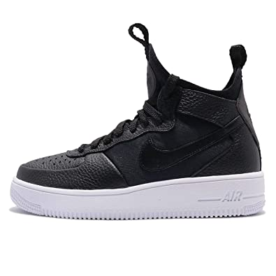 newest 86979 708f0 Nike Women's WMNS Air Force 1 Ultraforce Mid, Black/Black-White