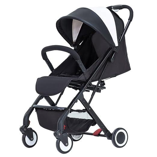 Carro de bebé Niño Carritos de bebé ligero plegable simple de 1-3 años de edad, tranvía puede montar el coche de los niños Cochecito de bebé plegable para ...