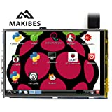 Makibes 3.5 Inch LCD (A) 320x480 Touch Screen Disegnato per Raspberry Pi Model B/B+/Raspberry Pi 2 Model B
