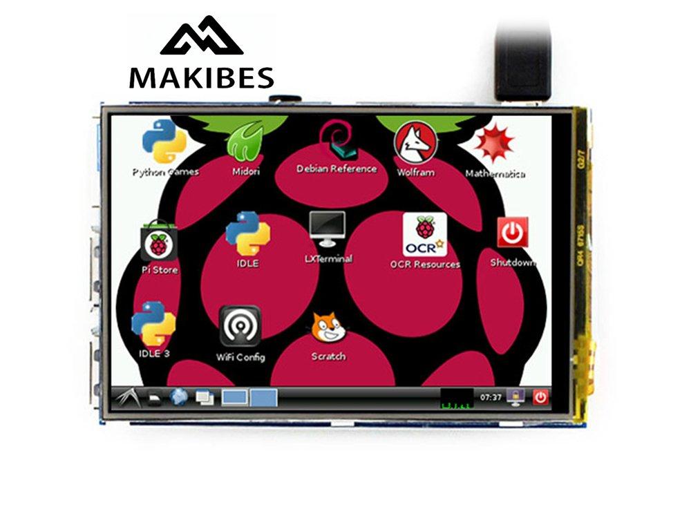 Raspberry Pi 3.5 Pulgadas Pantalla Táctil 480 * 320 LCD...