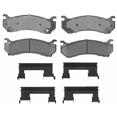 ACDelco 17D785CH Professional Ceramic Disc Brake Pad Set: Automotive