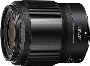 Nikon Nikkor Z 50mm f/1.8 S Lens, Black