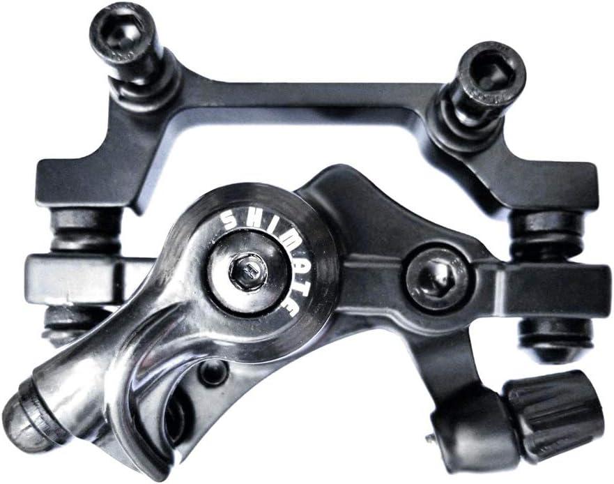 freno de disco mec/ánico Gobesty Pastillas de freno para bicicleta F160R140, F180R160 juego de 2 unidades BB7 disco de freno delantero y trasero
