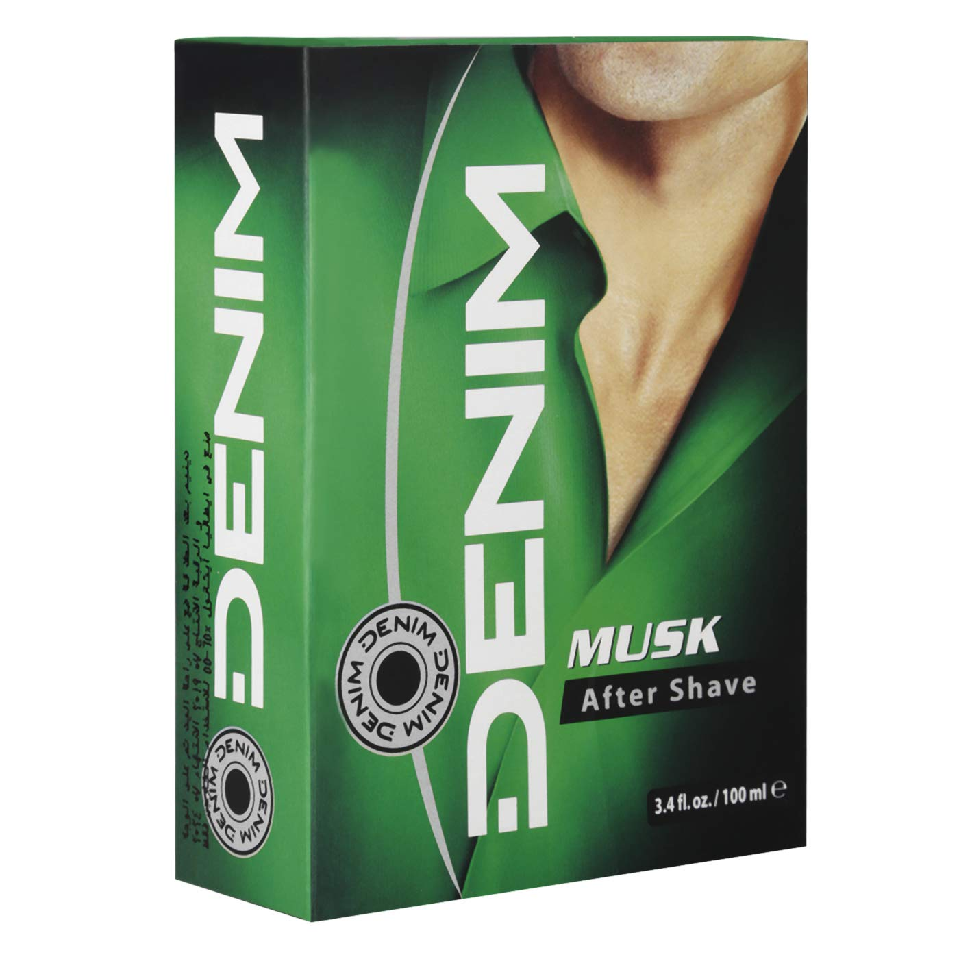 Denim Musk Aftershave 3.4 Oz 100Ml From Italy