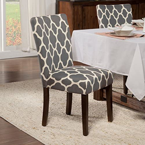 home, kitchen, furniture, kitchen, dining room furniture,  chairs 6 discount HomePop Parsons Classic Upholstered Accent Dining Chair, Set in USA
