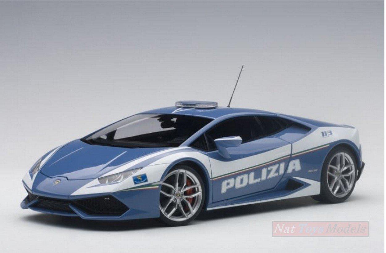 NEW AUTOART AA74609 Lamborghini Huracan LP610-4 2014 POLSTRADA 1:18 DIE CAST Model