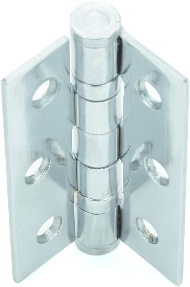 Premium Qualit/ät M4TEC ZD4 Innenraum Stahl-T/ürband in Electro Messing Farbe Robust haltbar leichte Montage Aufschraubband mit 2 Kugellager-Laufringen Ideal f/ür allgemeine Verbindungen /& M/öbel 2 Stk