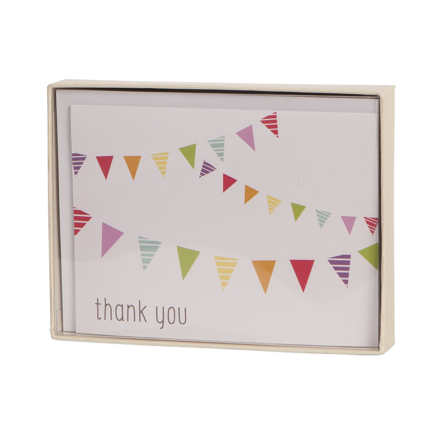 Fun and Festive Gibson Boxed Thank You Notes CRG C.R 10 Count