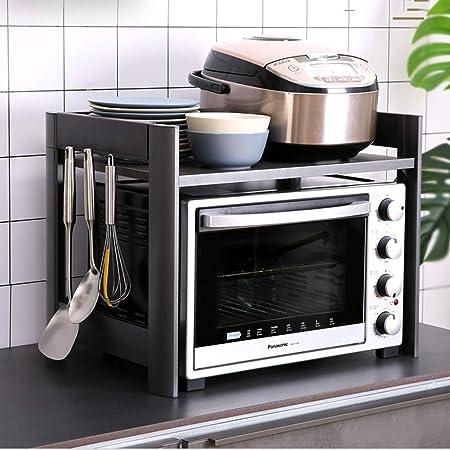 IUYWL Estante De Microondas De Cocina De 2 Capas, Estante De ...