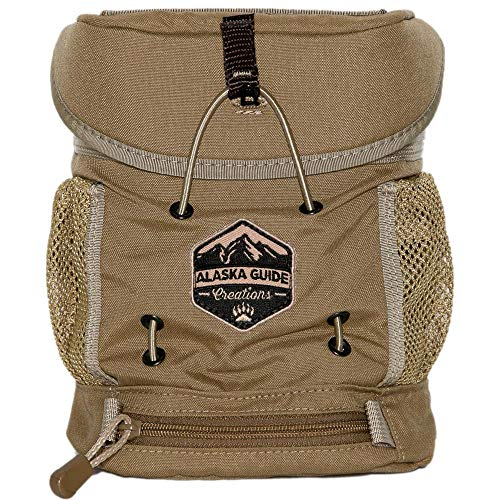 - Alaska Guide Creations Kodiak K.I.S.S. MAX Bino Harness-Coyote Brown