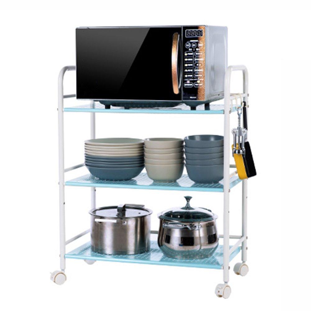Amazon.de: Küchenwagen HWF 3 Tier Mikrowelle Rack Küche Einheit ...