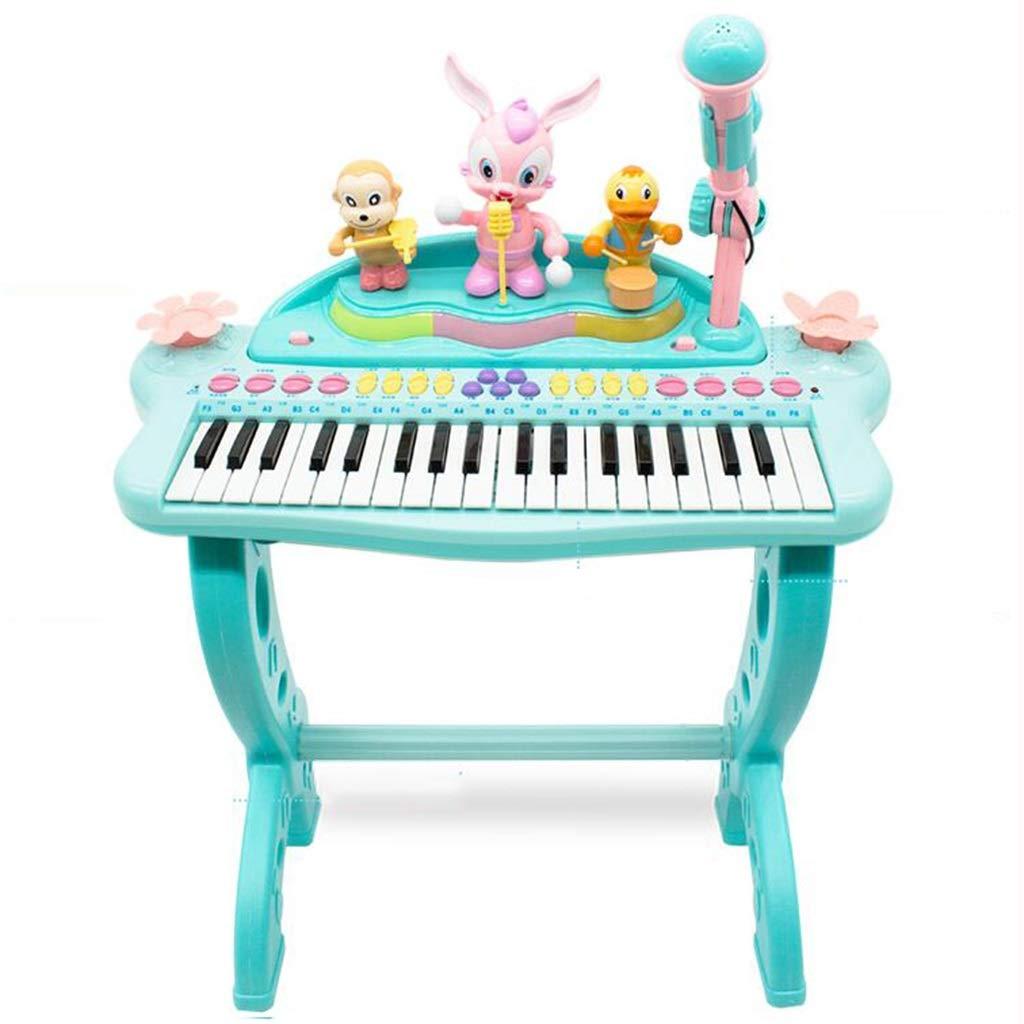 LLRDIAN Kinder-Multifunktionsspiel E-Keyboard Jungen und Mädchen Musikspielzeug