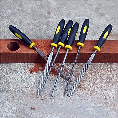 Werkzeuge 6 Stück 5*180 Mm Sortiert Datei Holz Carving Schleifen
