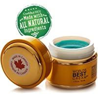 Worlds Best Cream Arthritis Pain Relief Cream Using the Power of Copper and Natural Oils-OTC- ALL NATURAL Remedy to FREE yourself from Arthritic Joint Pain - NPN 80060218