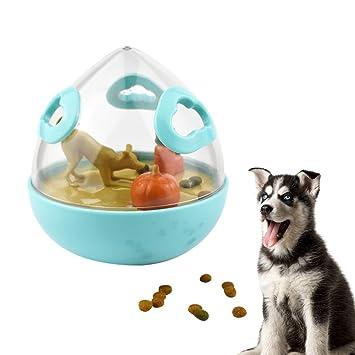supertop Mascotas Alimento Dispensador de Bolas Juguetes de Fugas de Vaso Rompecabezas Juguetes interactivos para Gatos Perros: Amazon.es: Productos para ...