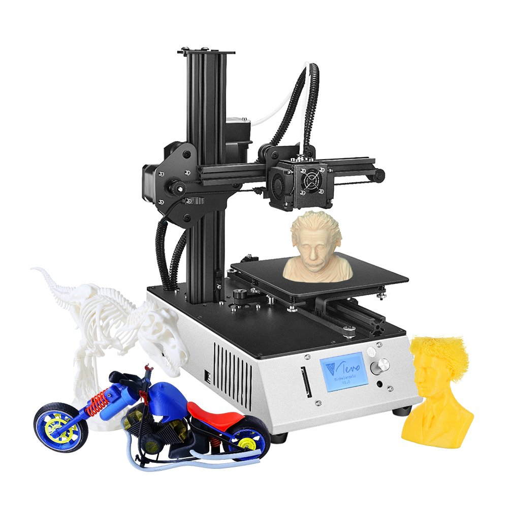 Amazon.com: TEVO Michelangelo Desktop Fully Assembled 3D Printer Aluminum Frame Titan Extruder Work with PLA TPU: Electronics