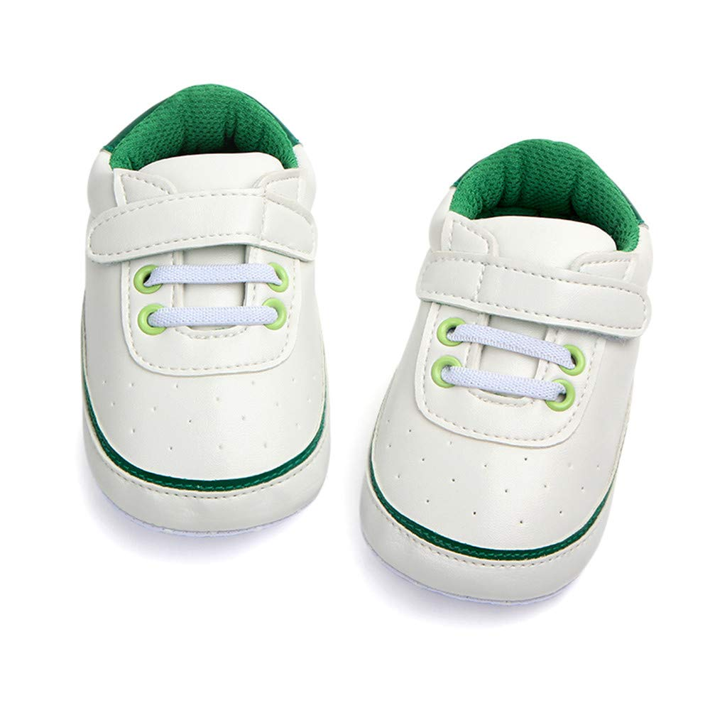 UCQueen Baby Newborn Kid Boy Girl Ankle Boots Solid Crib Sports Shoes Anti-Slip Sneaker