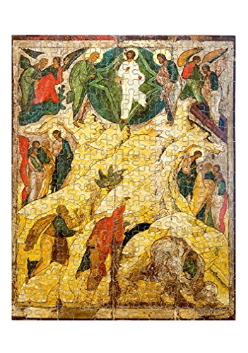 Russian Orthodox Icon Transfiguration Jigsaw Puzzle Print 110 Pieces