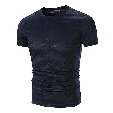 9a7117b204d0 Hot Summer Herren Männer Personalisierte Camo Print Kurzarm Top T-Shirt  GreatestPAK  Amazon.de  Bekleidung
