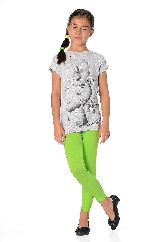 23 colori P902 92 cm/fino a 158/cm Leggings da bambina in cotone