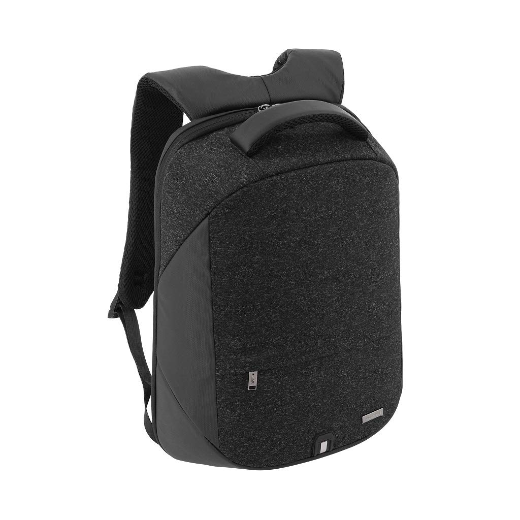 Santhome Anti Theft Laptop Backpack Unisex Multifunctional I External USB Port I Hard exterior to retain shape I Light weight IBusiness Computer Bag for Travel College School Students Men Women