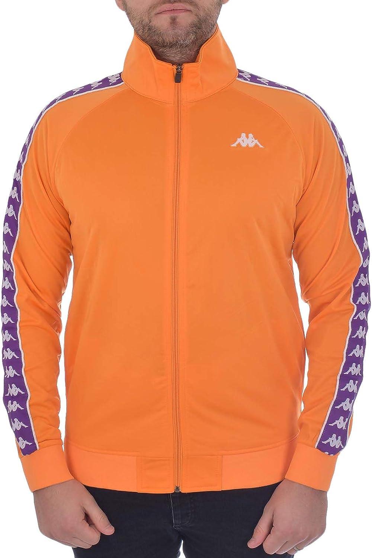 Kappa Mens Clothing Sweatshirt with Zip 301EFU0 C35 Banda Anniston Slim