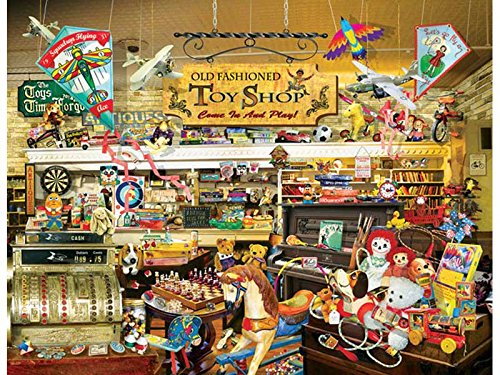 An Old Fashioned Toy Shop 1000 pc Jigsaw Puzzle for cheap