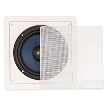 blue octave home rw8 inwall subwoofer white