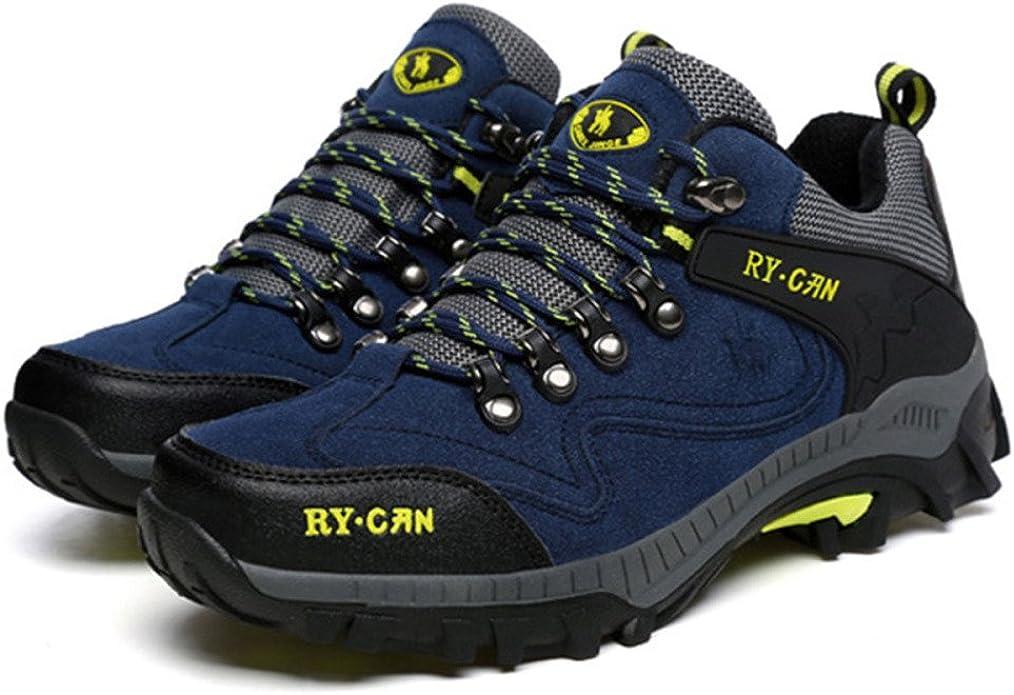 Botas De Montaña para Hombre A Prueba De Agua Zapatos Ligeros De Alta Subida para Caminar Espesar Más Zapatos De Algodón De Terciopelo Zapatos Al Aire Libre: Amazon.es: Zapatos y complementos