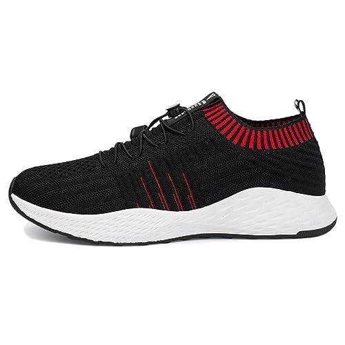 Zapatos para Correr Hombres Unisex Zapatos De Primavera Y Verano De Los Zapatos De Malla Transpirable Zapatos De Viaje De Ocio Transpirable Desgaste: ...