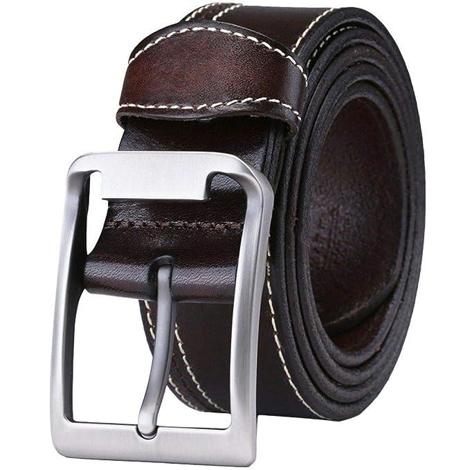 SBORT Cinturón cómodo con tejido elástico,Ideal para jeans ...